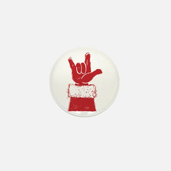 Santa Mini Button (10 pack)