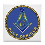 Masonic Past Officer Tile Coaster