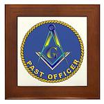 Masonic Past Officer Framed Tile