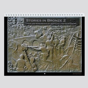 Stories in Bronze 2 Civil War Wall Calendar