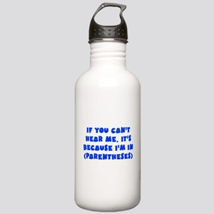 Parenthesis - Writing Stainless Water Bottle 1.0L
