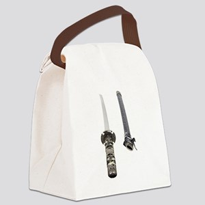 SamuraiScabbard061209 Canvas Lunch Bag