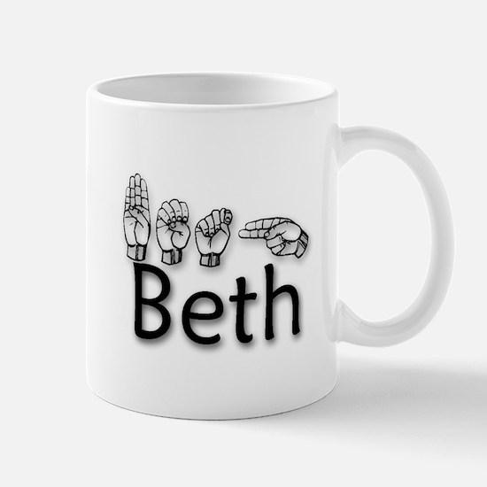 Beth-blk Mug