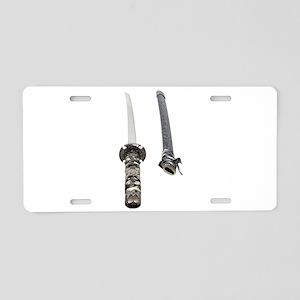 SamuraiScabbard061209 Aluminum License Plate