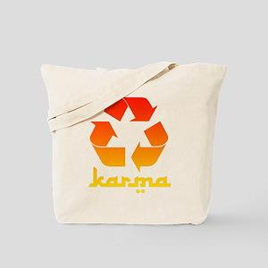 Recycle KARMA Tote Bag