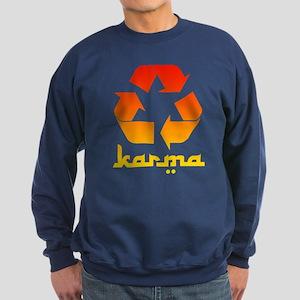 Recycle KARMA Sweatshirt (dark)