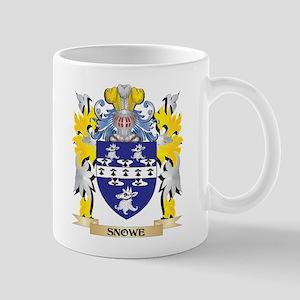 Snowe Family Crest - Coat of Arms Mugs