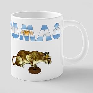 Argentina Pumas Rugby 20 oz Ceramic Mega Mug