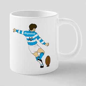 Argentina Rugby 20 oz Ceramic Mega Mug