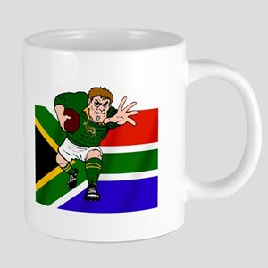 South Africa Rugby Forward 20 oz Ceramic Mega Mug