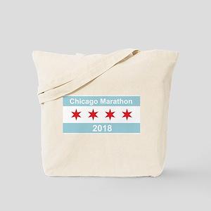 2018 Chicago Marathon Tote Bag