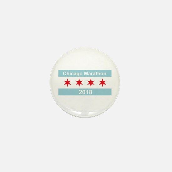 2018 Chicago Marathon Mini Button