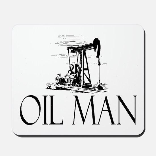 Oil Man Mousepad