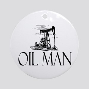 Oil Man Ornament (Round)