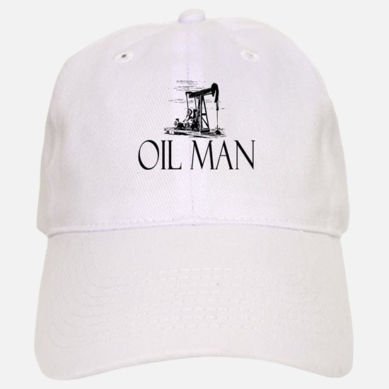 Oil Man Baseball Baseball Cap