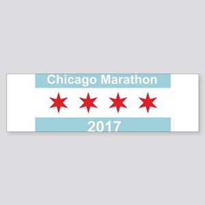 2017 Chicago Marathon Sticker (Bumper)