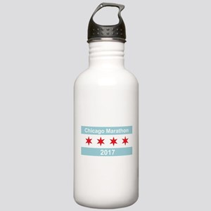 2017 Chicago Marathon Stainless Water Bottle 1.0L