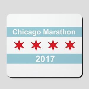 2017 Chicago Marathon Mousepad