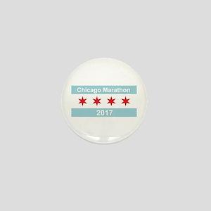 2017 Chicago Marathon Mini Button