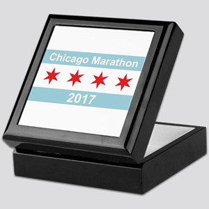 2017 Chicago Marathon Keepsake Box