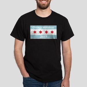 2017 Chicago Marathon Dark T-Shirt