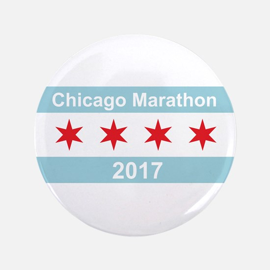 "2017 Chicago Marathon 3.5"" Button (100 pack)"