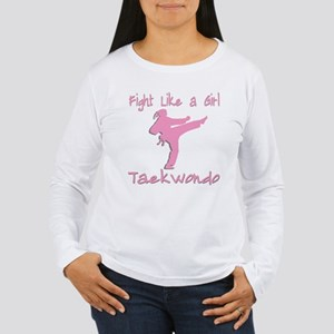 Taekwondo Women's Long Sleeve T-Shirt