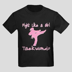 Taekwondo Kids Dark T-Shirt
