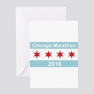 2016 Chicago Marathon Greeting Card