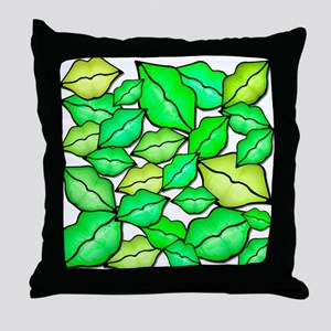 Irish Kisses Throw Pillow
