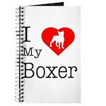 I Love My Boxer Journal