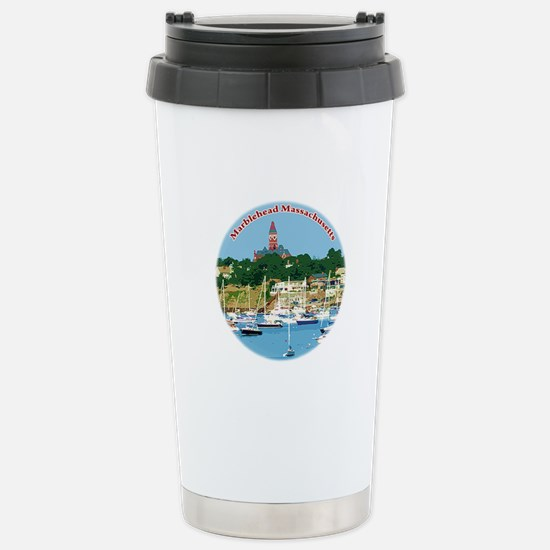 Marblehead MA Stainless Steel Travel Mug