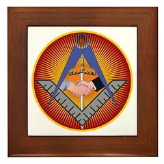 Masonic UGLE Framed Tile