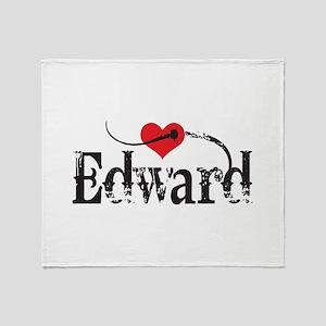 Twilight Fan Edward Throw Blanket