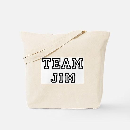 Team Jim Tote Bag