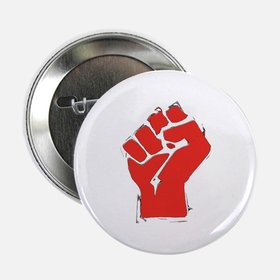 "Raised Fist 2.25"" Button"