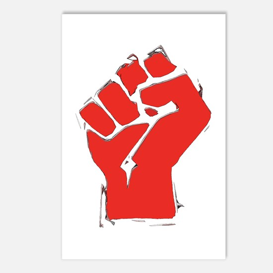 Raised Fist Postcards (Package of 8)