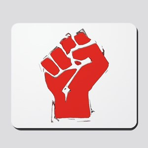 Raised Fist Mousepad
