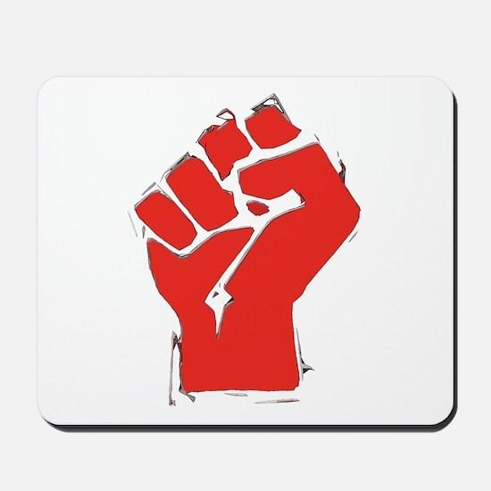Raised Fist Mousepad