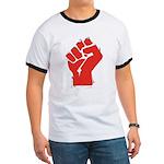 Raised Fist Ringer T