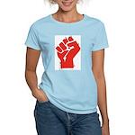 Raised Fist Women's Light T-Shirt