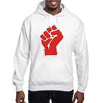 Raised Fist Hooded Sweatshirt