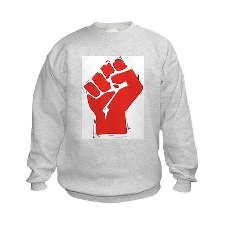 Raised Fist Kids Sweatshirt