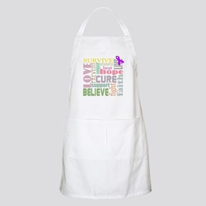 Alzheimer's Inspirational Words Apron