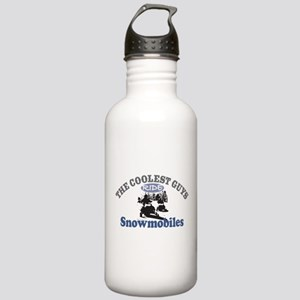 Coolest Guys Snowmobile Stainless Water Bottle 1.0