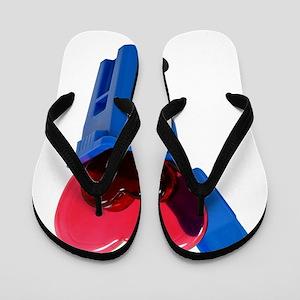 RecycleLove062709 Flip Flops