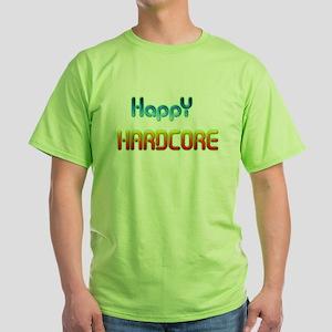 HappyHardcore Green T-Shirt