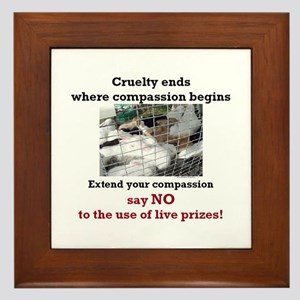 Extend your Compassion Framed Tile