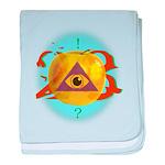 Illuminati Golden Apple Infant Blanket