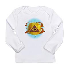 Illuminati Golden Apple Long Sleeve Infant T-Shirt